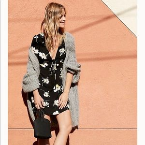NWT Free People Floral All Yours Mini Dress 12